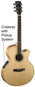 Electro Acoustic Guitar - with cut away